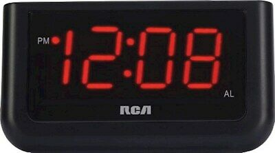 "digital alarm clock with large 1.4"" display"