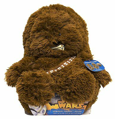 Star Wars Chewbacca Hideaway Pet Pillow 14""