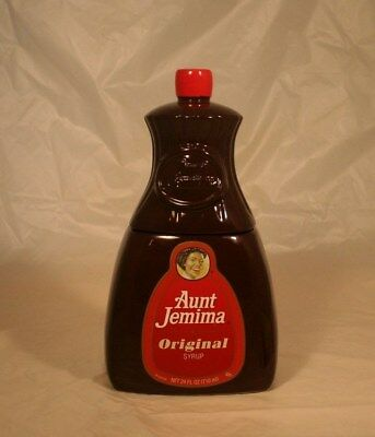 Very Rare AUNT JEMIMA SYRUP BOTTLE COOKIE JAR