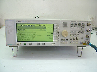 Agilent E4422B 250KHz - 4GHz ESG Signal Generator RF pulse AM FM   Fully Tested