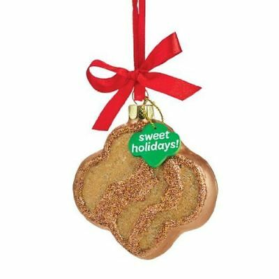 New Dept56 Girl Scout Trefoil Cookie Ornament