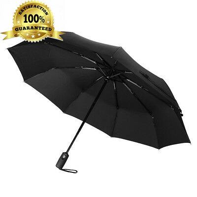 60Mph Windproof Umbrella, TopElek Automatic Extra Strong Umbrella with...
