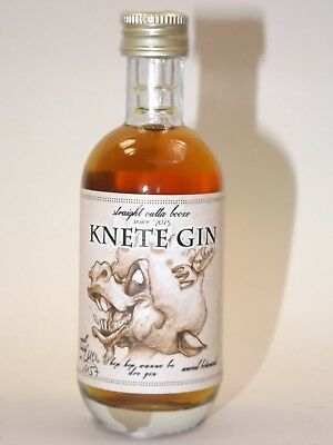 Gin KNETE 50 ml 45% BERLIN mini flasche bottle miniature bottela GERMANY