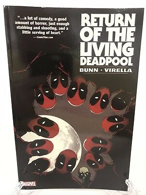Return of the Living Deadpool Collects #1-4 Marvel TPB Trade Paperback Brand New