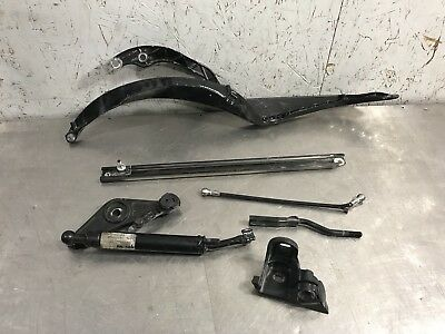 2000 Porsche Boxster 986 2.7L OEM Set Of Convertible Top Linkage Arms - Driver