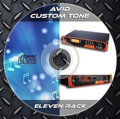 1.550 Patches Avid Eleven Rack Multi Effects Processor. Custom Tone Preset