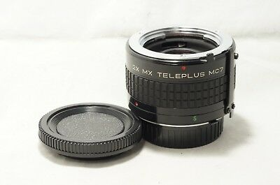 "2X MX Teleplus MC7 Teleconverter for Minolta SR/MD MF ""Good"" [6011093]"
