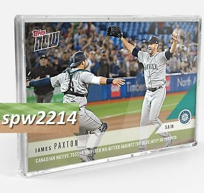 2018 Topps Now Bundle (4) 186-189 Paxton, Yankees, Royals, Piscotty