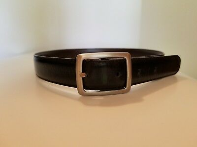 "Gymboree Toddler Boys Leather Reversible Belt Brown/Black 22""-25"" Waist"