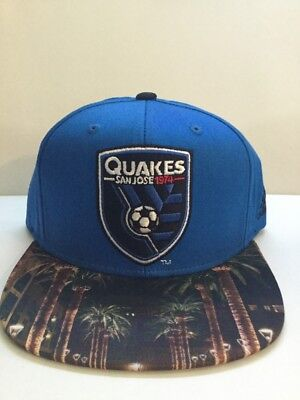 buy online dd119 c0501 San Jose Earthquakes MLS Skyline SnapBack Hat. Brand New. One Size Fits All