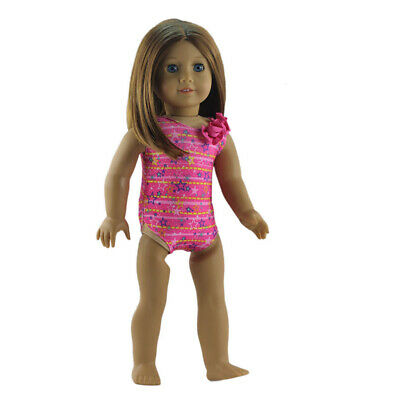 Stars Print Swimsuit for 18inch American Girl Our Generation Doll Accessory