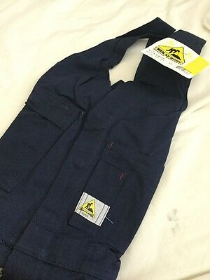 MEN AT WORK OVERALLS  Size 92s ACTION BACK