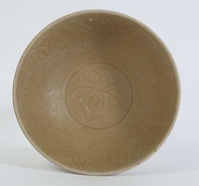 China Chinese Celadon Pottery Bowl Lotus Decor Song-Yuan Dynasty 10 -13th c #3