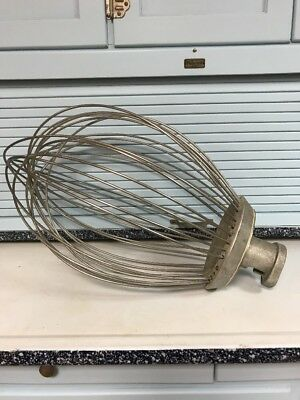Hobart VMLH 60 D Wire Whip Whisk Genuine Hobart Excellent Condition 60 qt.