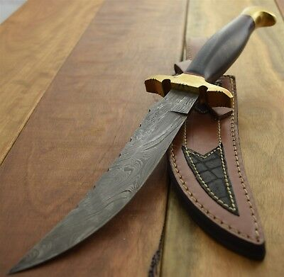 Damascus Hand Forged Re Curve Bowie Handmade in Pakistan