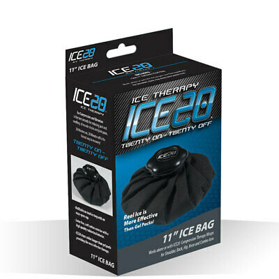 "Ice20 11"" Ice Therapy Bag Cooler Pack First Aid for Injury/Knee/Wrist/Ankle Pain"