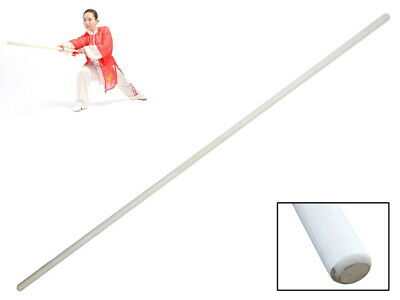 Natural//Polished White Wax Wood Bo Staff Martial Arts Taper Karate Stick Kung Fu