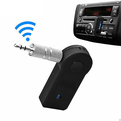 Auto Bluetooth Wireless AUX Empfänger Adapter Dongle Musik Audio Stereo A2DP 3.5