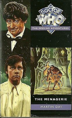 OOP  Paperback Book - DOCTOR WHO - The Menagerie - Martin Day - Virgin - 1995