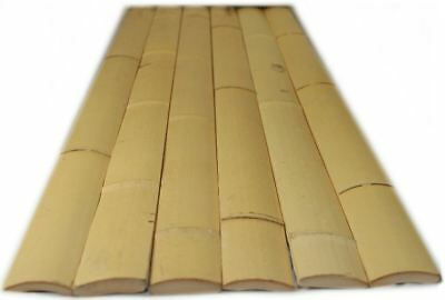 Bamboo Slat 125 Pieces Screening Fencing 25-30mm(W)x1.8M(H)25kg Privacy Blockout