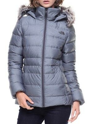 100% Authentic Womens The North Face Gotham Jacket Ii 550 Fill Grey  Rrp $450