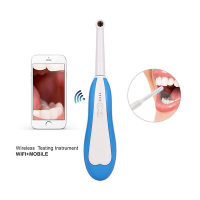 Dental HD Mini WiFi Wireless Intraoral Oral Camera fit iPhone Android Windows