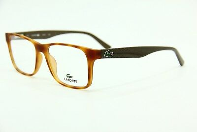 78af6d358dd5 New Lacoste L 2741 218 Havana Brown Eyeglasses Authentic Rx L2741 52-17