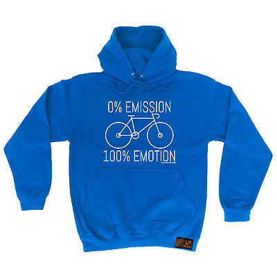 Cycling Hoodie 0 Emmission 100 Emotion hoody bicycle cycle funny Birthday HOODY