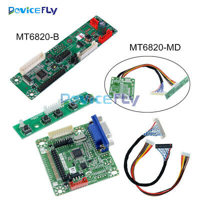 MT6820-B MT6820-MD V2.0 Universal LCD Driver Controller Board With Cable DIY
