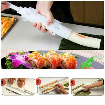 Sushi Food Maker Bazooka Kitchen Appliance Gourmet Cooking Shape Tube Easy New