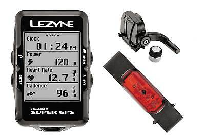 Lezyne Super Accurate Cycling GPS Computer Cadence Sensor w/ Mounting