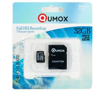 QUMOX 32GB MICRO SD MEMORY CARD CLASS 10 UHS-I 32 GB 70MB/s R