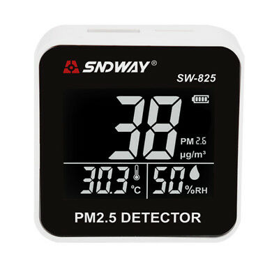 Handy Air Quality Meter Particle Monitor Detector PM2.5 LCD Display Screen
