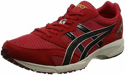 ASICS Weight Lifting Shoes 727 Red White Leather US9.5 27.5cm EMS w/ Tracking