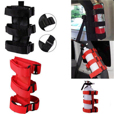 Auto Car Fire Extinguisher Fixing Holder Belt For Automobile Jeep Wrangler ♫