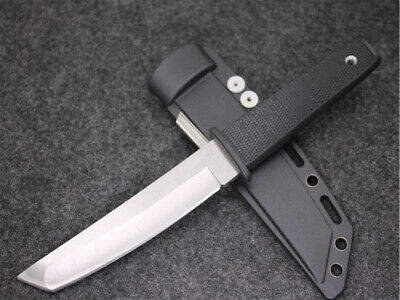 Sharp Aus-8A 58Hrc  Combat Tactical Survival Rescue Bowie Camping Hunting Knife