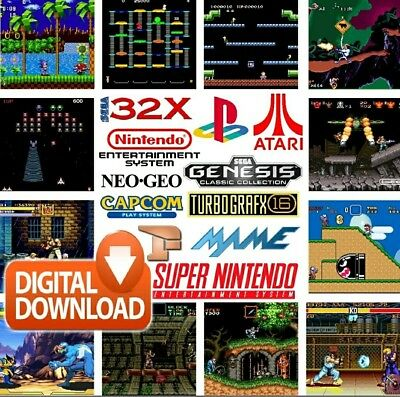 32gb retropie image (download) for raspberry pi 3  with 28 systems 6000+games