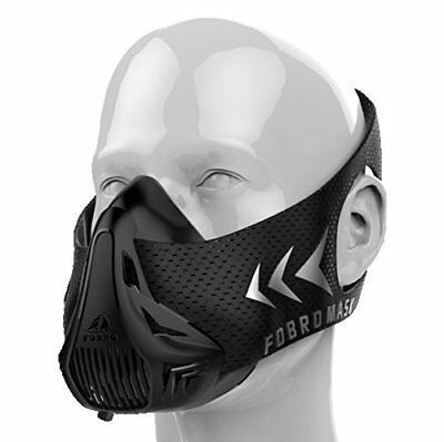 FDBRO High Altitude Simulator Training Mask Conditioning for All Sports Workout