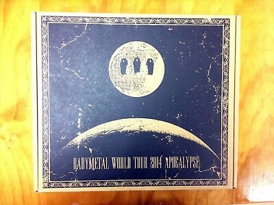 BABYMETAL THE ONE Limited Blu-ray BABYMETAL WORLD TOUR 2014 Very Good Condition