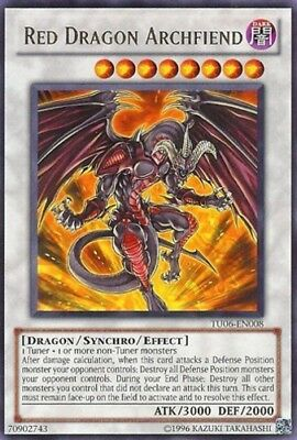 YGO-1x-Near Mint-Red Dragon Archfiend - TU06-EN008 - Rare - Unlimited Edition-Yu