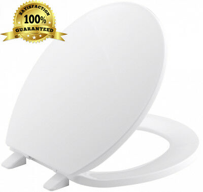 no slam toilet seat hinge. Toilet Seat White Durable Adjustable Soft Close Cover Lid With Fixings for  KERAMAG VITELLE Alpin with