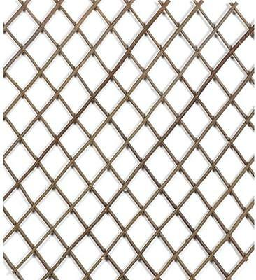Trellis Expanding Scisor Willow 60x180cm Climbing Garden Plant Wall Fence Screen