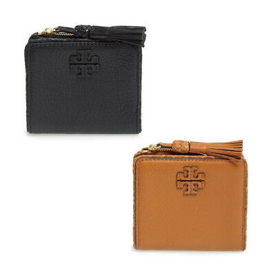 2948a33e6cf TORY BURCH Taylor Mini Wallet Card Coin Womens Leather Card Holder Gift NWT