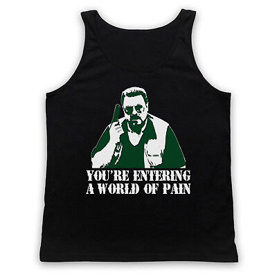 Entering A World Of Pain Big Lebowski Walter Unofficial Adults Vest Tank Top