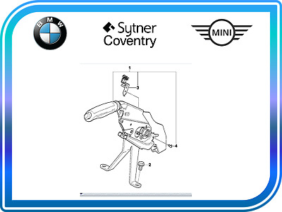 Genuine BMW Hanbrake Lever BMW X5 E53 34406762193