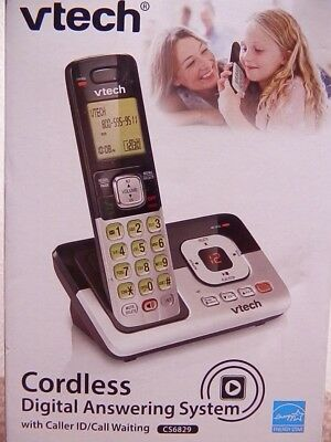 Vtech Cordless Digital Answering System With Caller Id/call Waiting  #cs6829