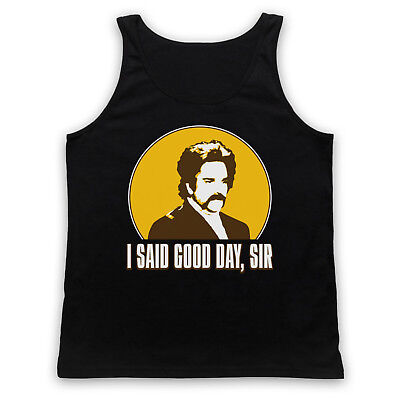 Dixon Unofficial The Mighty Boosh I Said Good Day Sir Adults Vest Tank Top