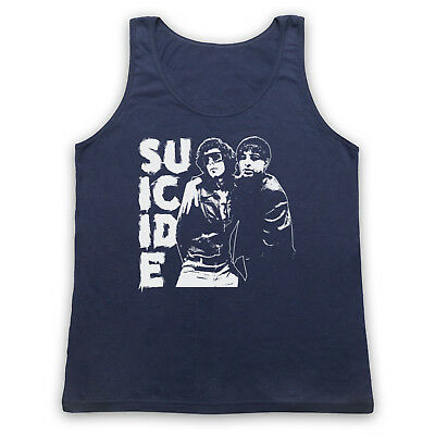 MENS FITTED VEST TANK SUICIDE 1977 AMERICAN PUNK ROCK CBGBs SYNTH POP ELECTRIC