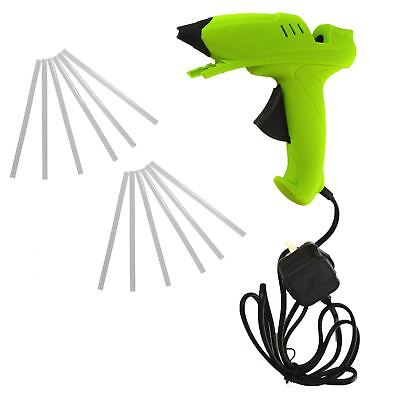 Glue Gun Hot Melt Glue Heat Electric Trigger with 14 Glue Sticks 40w