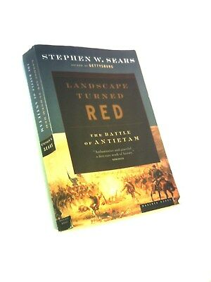 Landscape turned red the battle of antietam paperback new sears 1st pb 5thp stephen sears landscape turned red the battle of antietam fandeluxe Choice Image